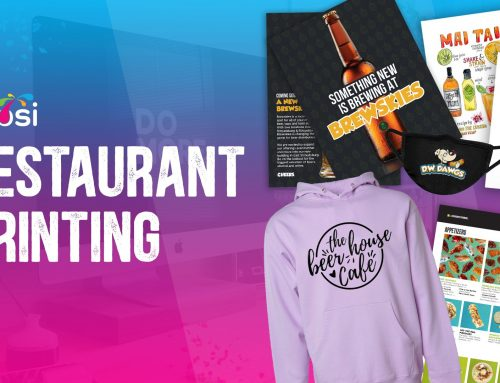 Creative Printing Techniques for the Restaurant Industry