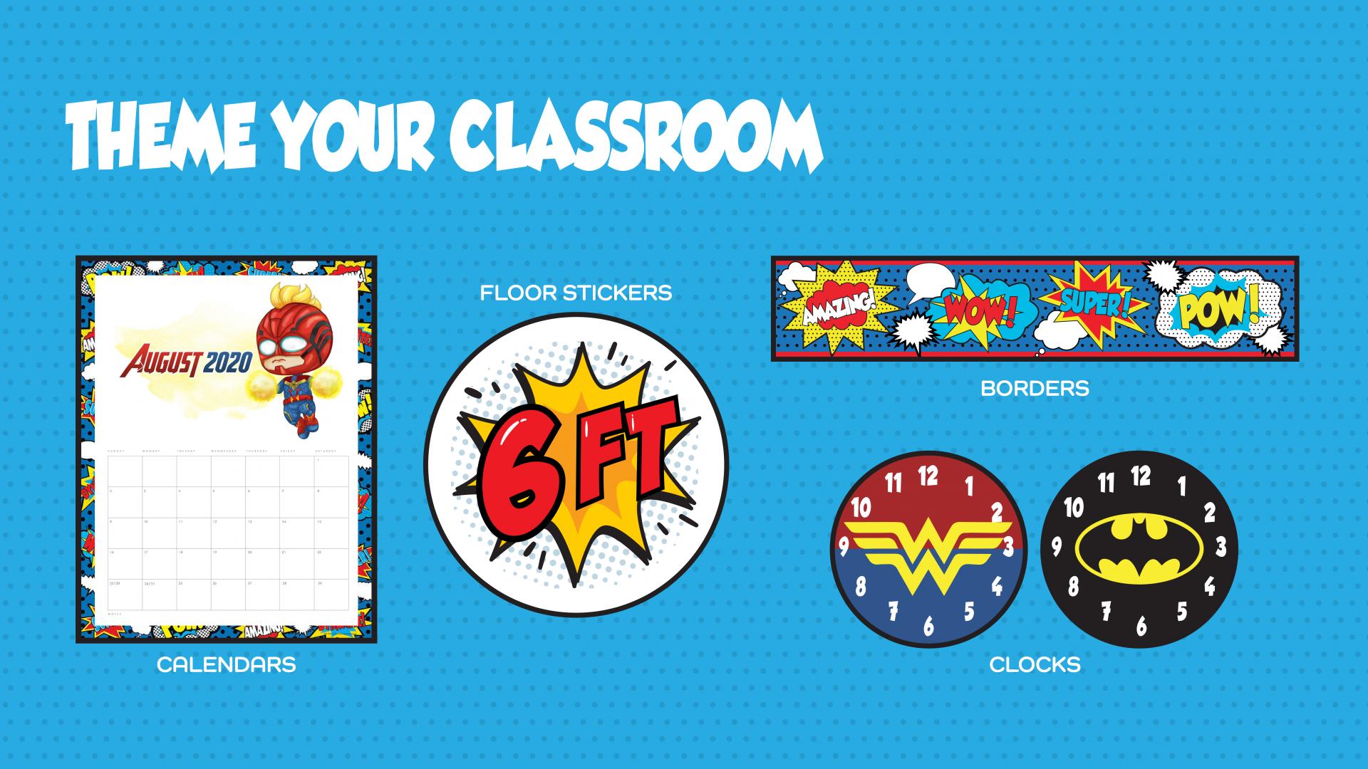 Classroom Theme Samples